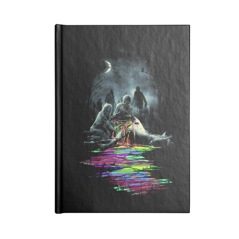 Midnight Snack Accessories Notebook by nicebleed