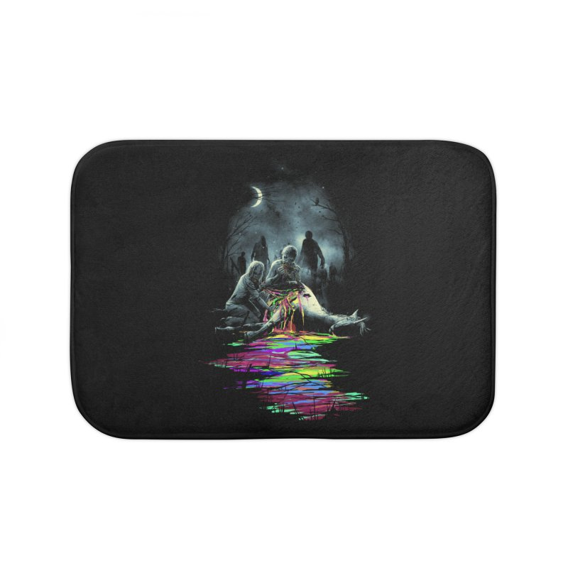 Midnight Snack Home Bath Mat by nicebleed