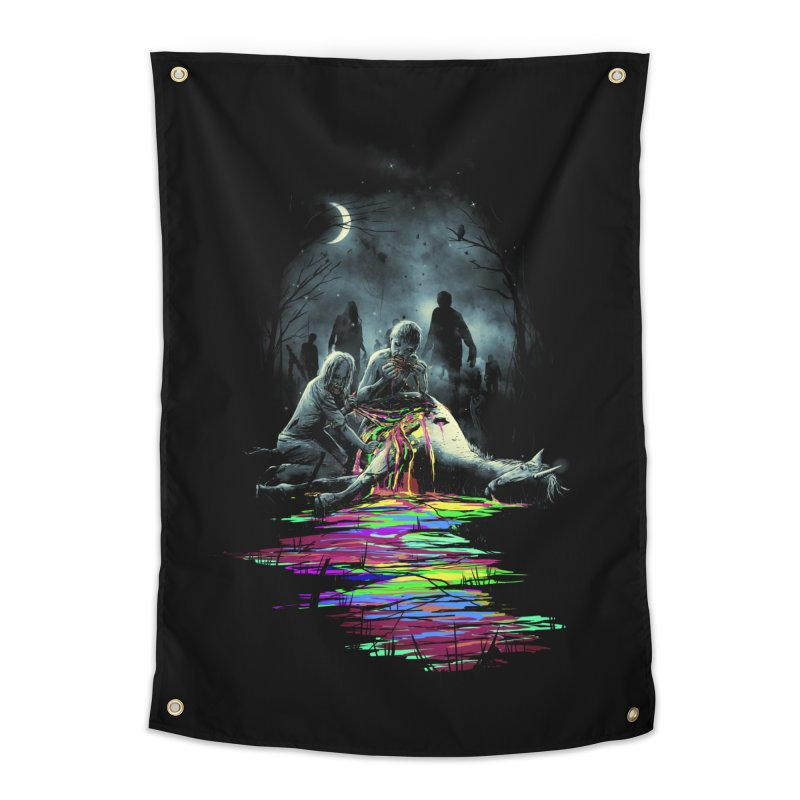 Midnight Snack Home Tapestry by nicebleed