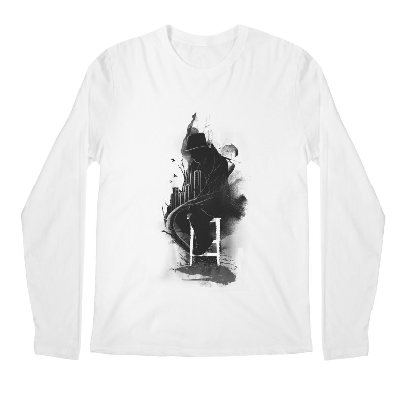 One World, One Mission Men's Longsleeve T-Shirt by nicebleed
