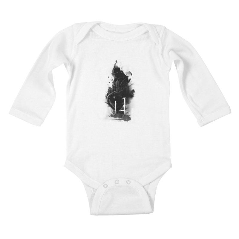 One World, One Mission Kids Baby Longsleeve Bodysuit by nicebleed