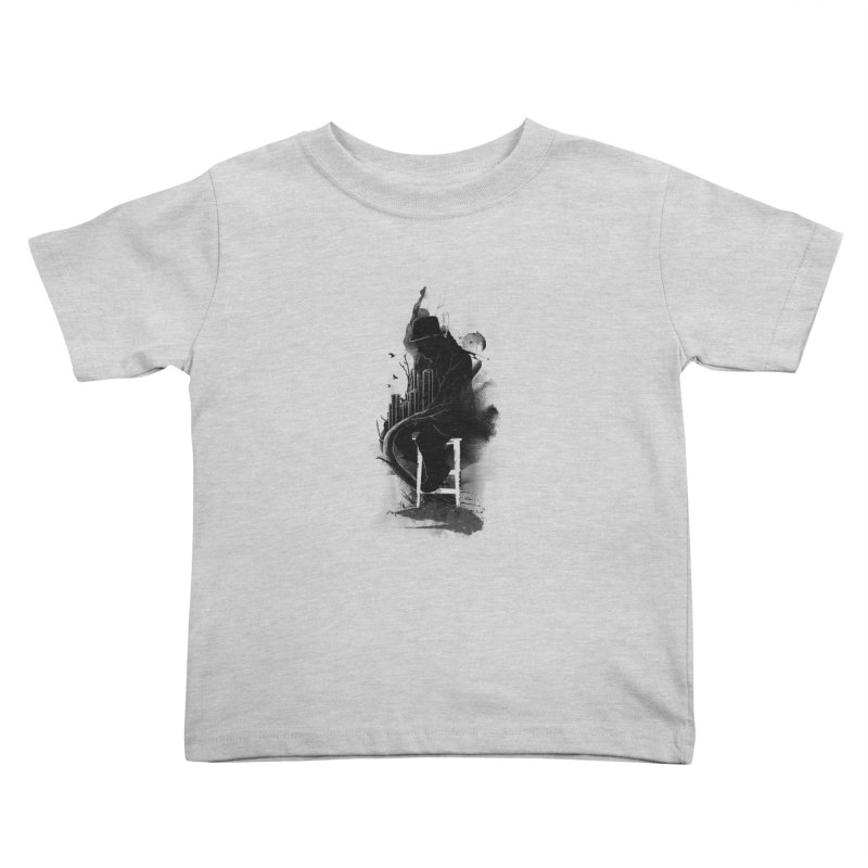 One World, One Mission Kids Toddler T-Shirt by nicebleed