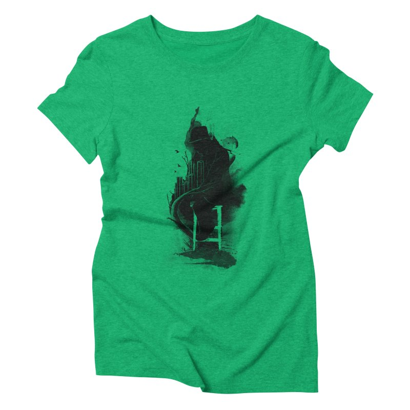 One World, One Mission Women's Triblend T-shirt by nicebleed