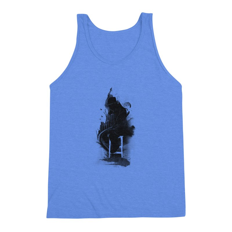 One World, One Mission Men's Triblend Tank by nicebleed