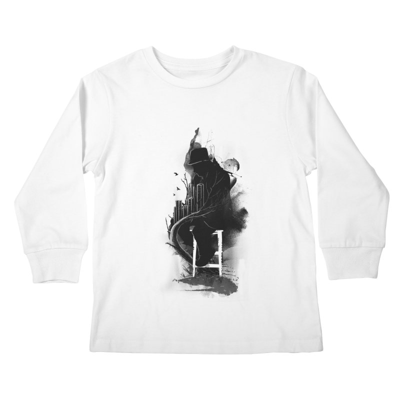 One World, One Mission Kids Longsleeve T-Shirt by nicebleed