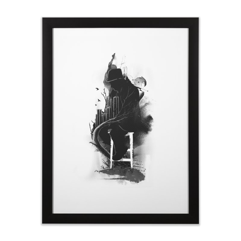One World, One Mission Home Framed Fine Art Print by nicebleed