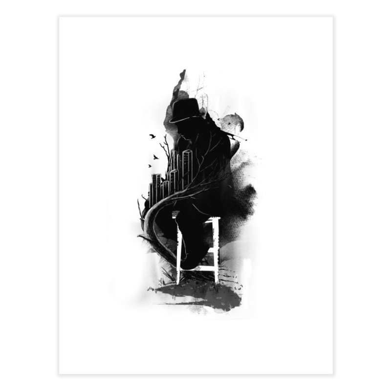 One World, One Mission Home Fine Art Print by nicebleed