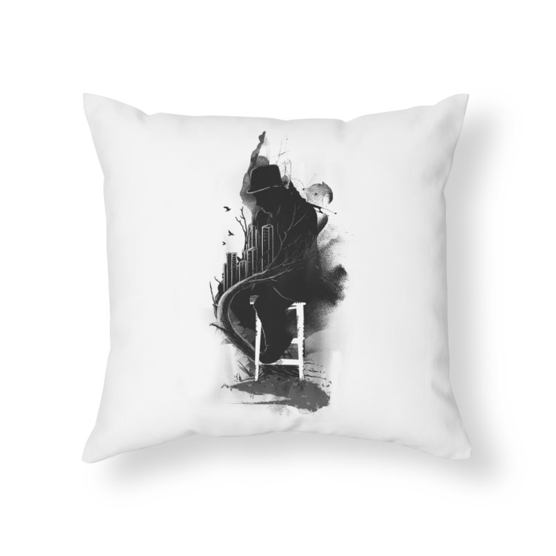 One World, One Mission Home Throw Pillow by nicebleed