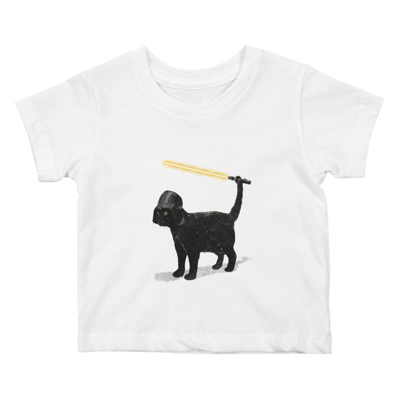 CatVader Kids Baby T-Shirt by nicebleed