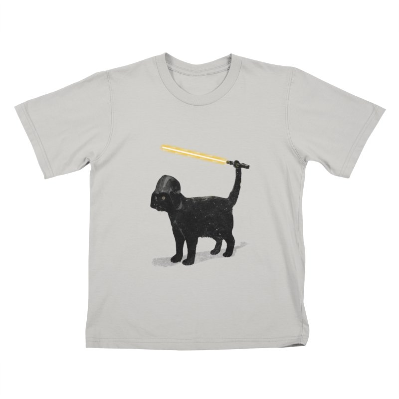 CatVader Kids T-shirt by nicebleed