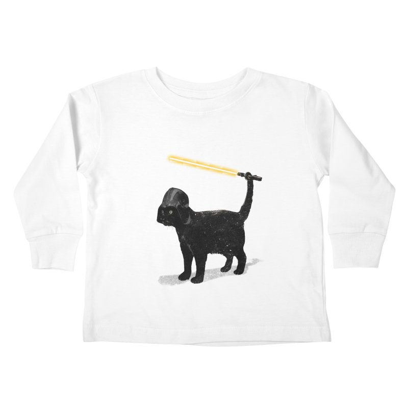 CatVader Kids Toddler Longsleeve T-Shirt by nicebleed