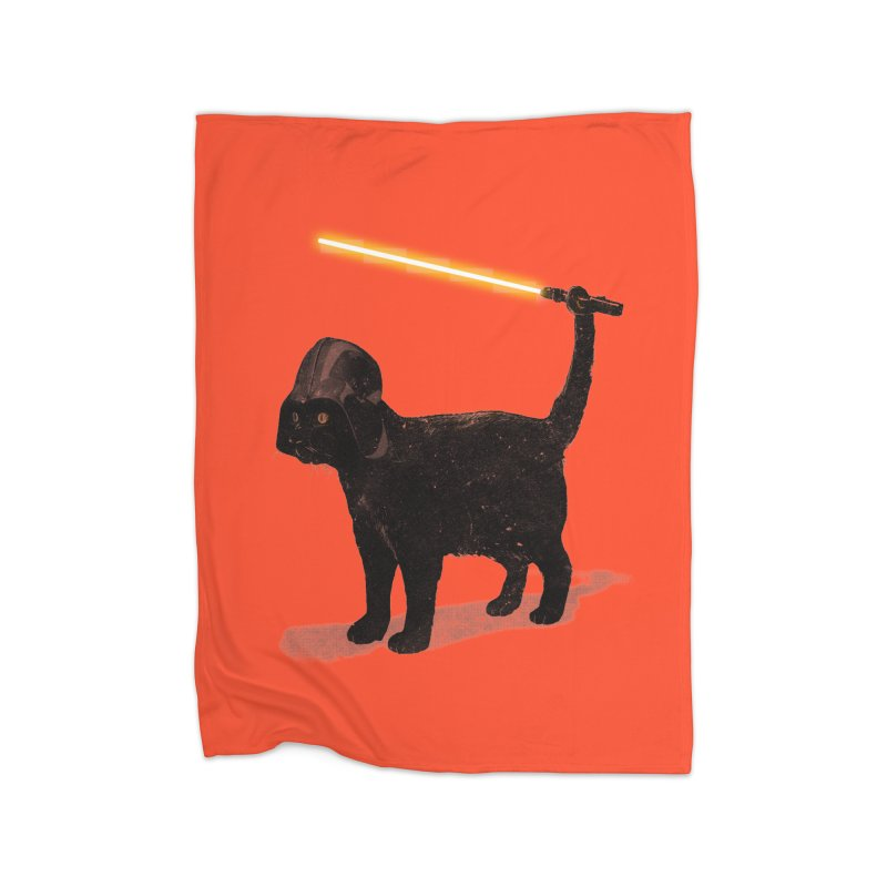 CatVader Home Fleece Blanket by nicebleed