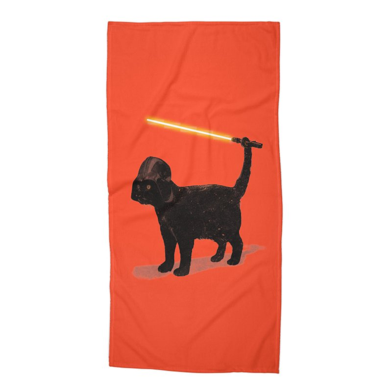CatVader Accessories Beach Towel by nicebleed