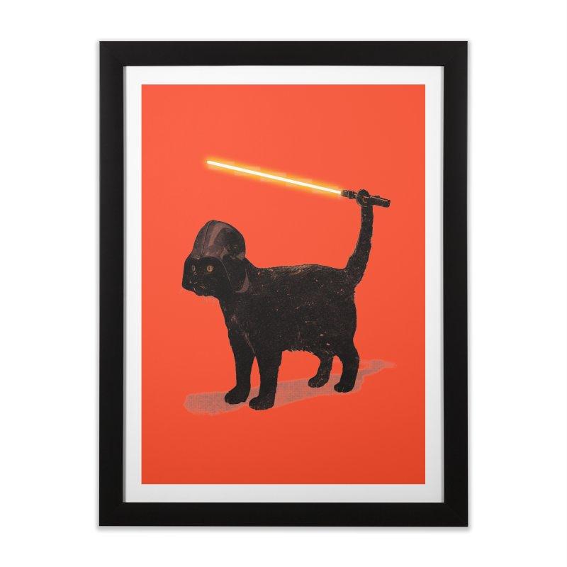 CatVader Home Framed Fine Art Print by nicebleed