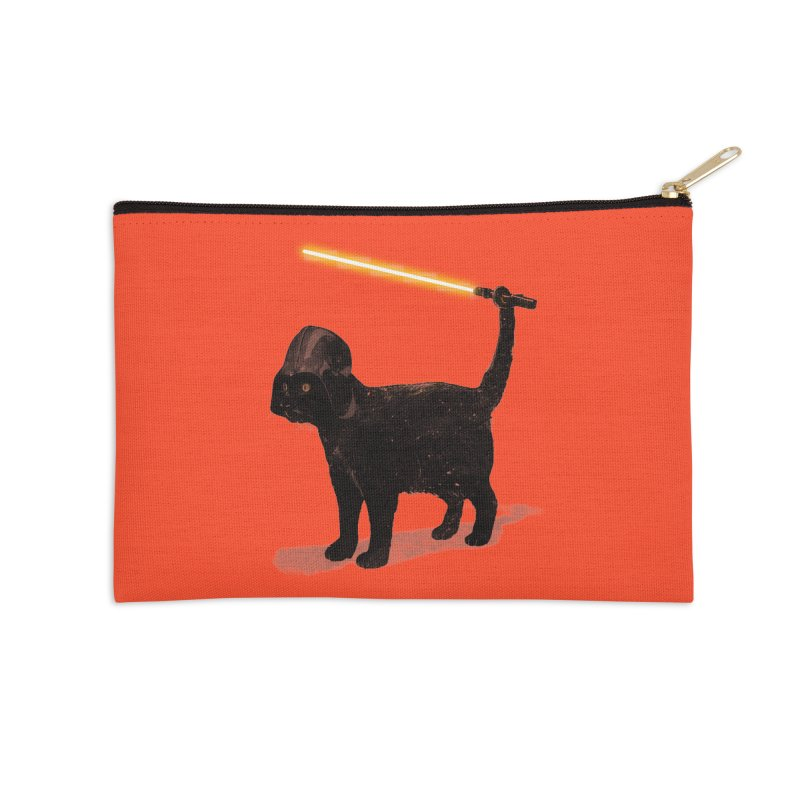 CatVader Accessories Zip Pouch by nicebleed