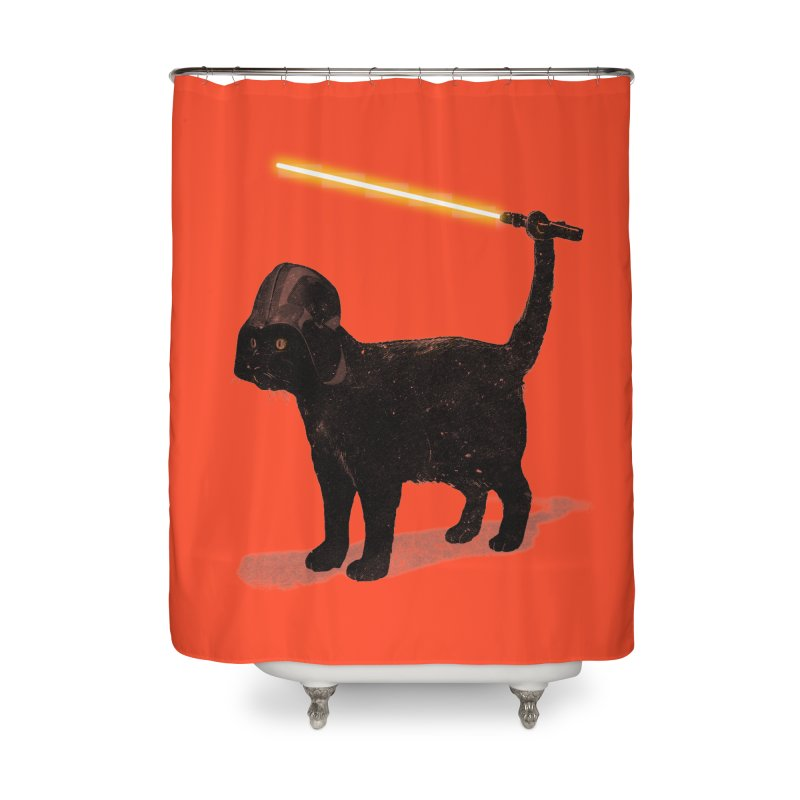 CatVader Home Shower Curtain by nicebleed