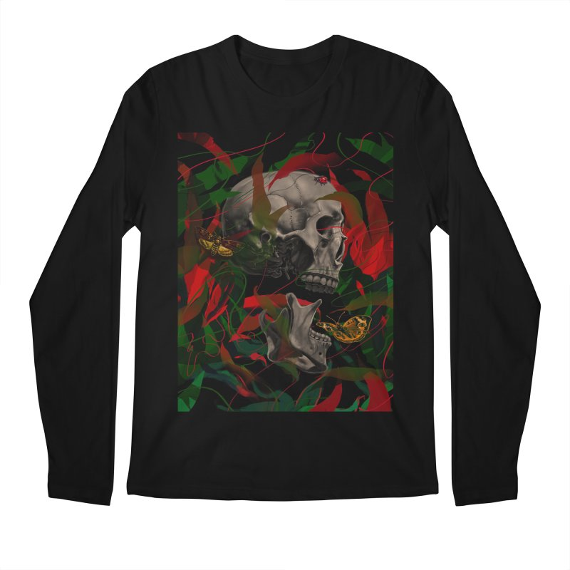 Existence Men's Longsleeve T-Shirt by nicebleed