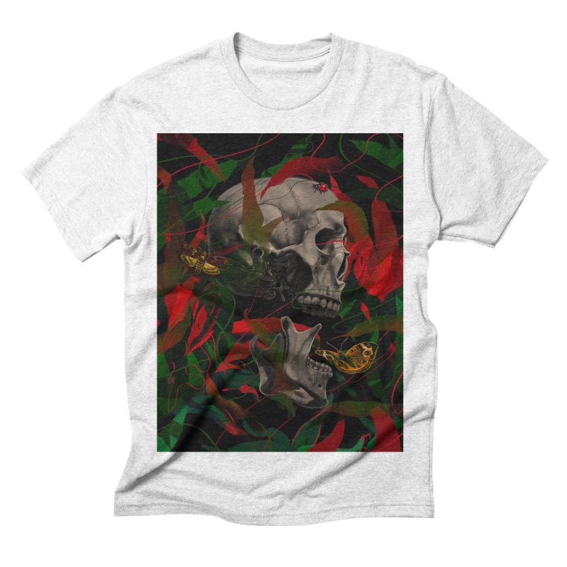 Existence Men's Triblend T-shirt by nicebleed