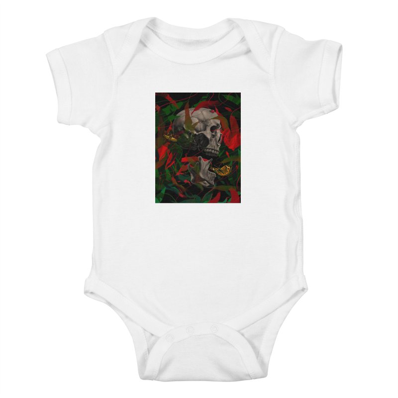 Existence Kids Baby Bodysuit by nicebleed