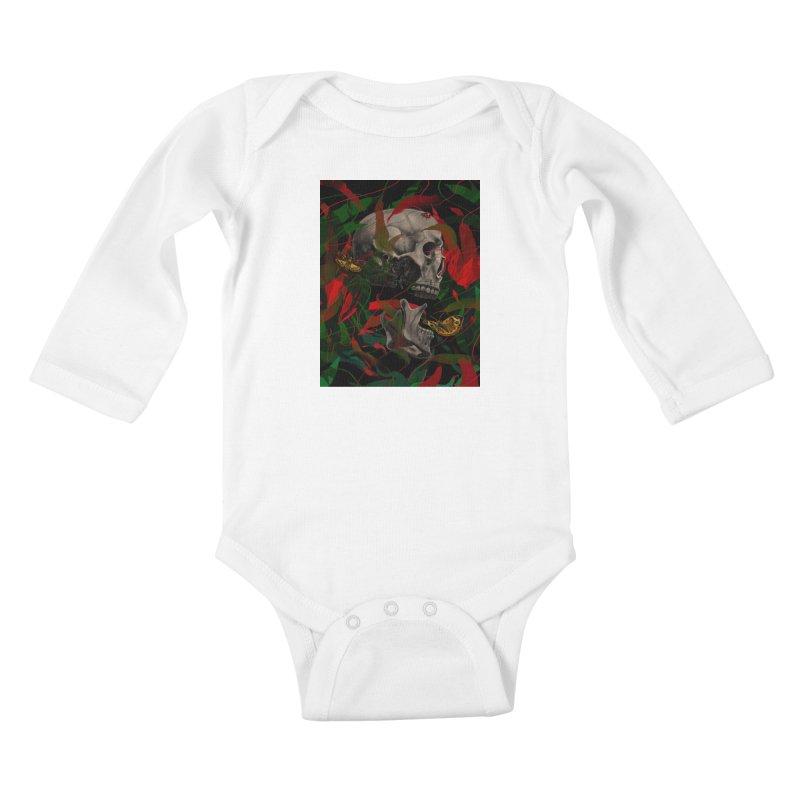 Existence Kids Baby Longsleeve Bodysuit by nicebleed