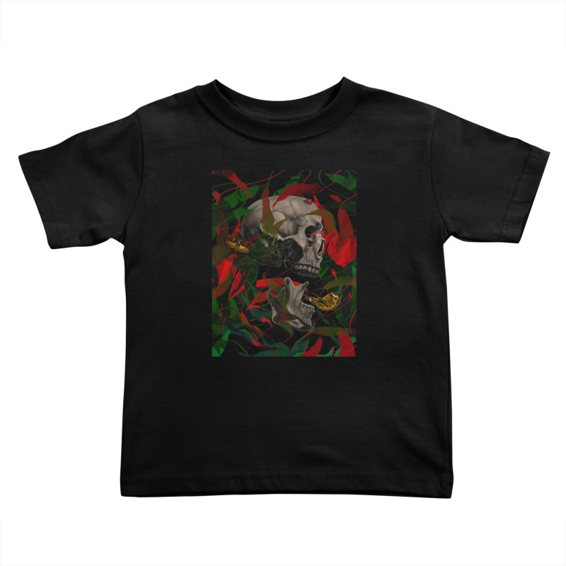 Existence Kids Toddler T-Shirt by nicebleed