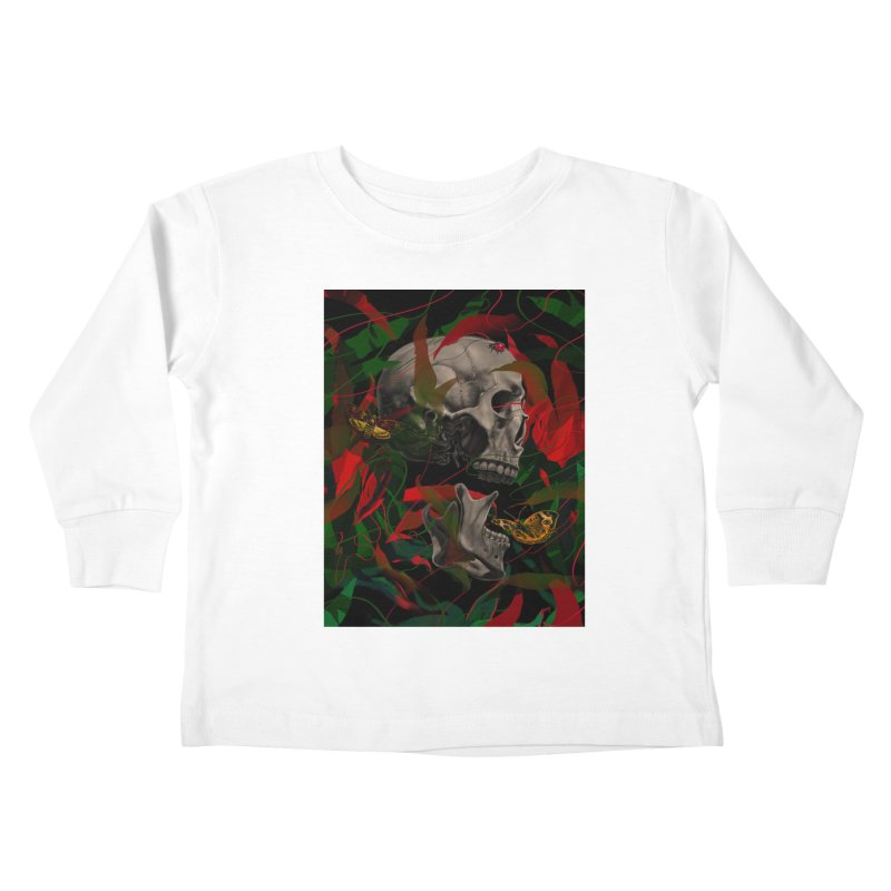 Existence Kids Toddler Longsleeve T-Shirt by nicebleed