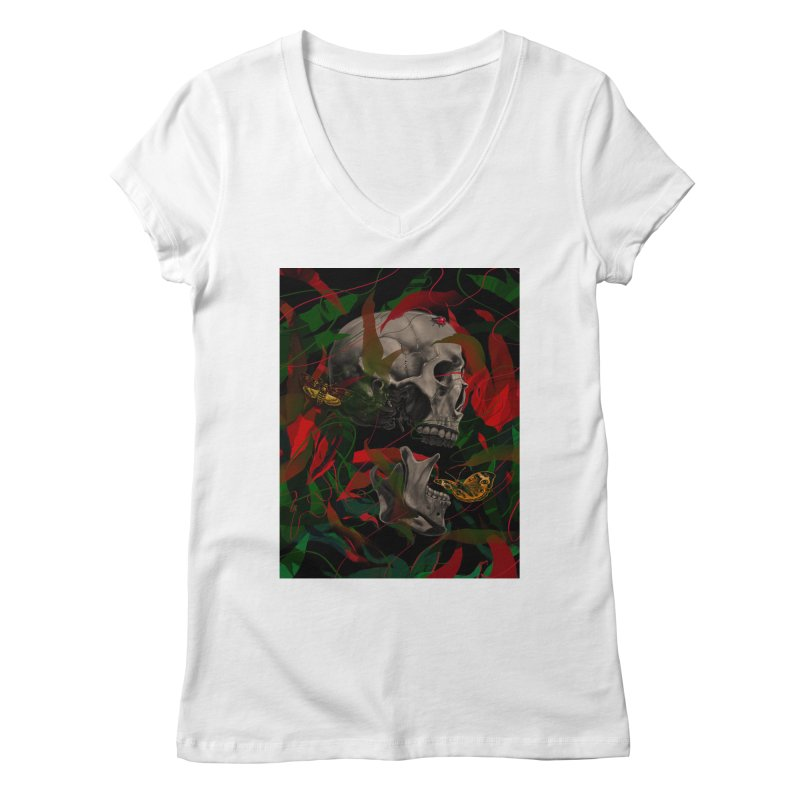 Existence Women's V-Neck by nicebleed