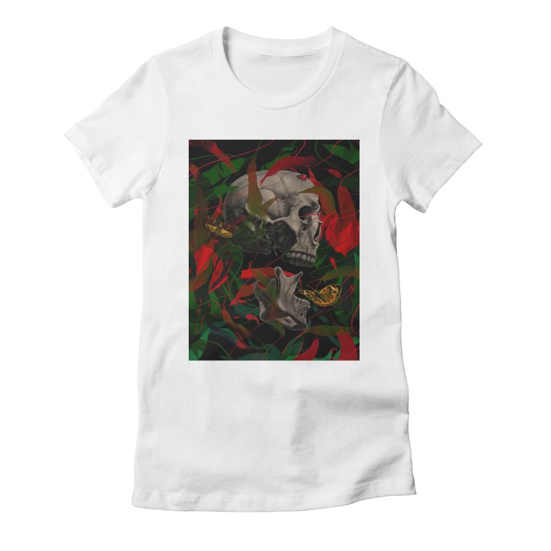 Existence Women's Fitted T-Shirt by nicebleed