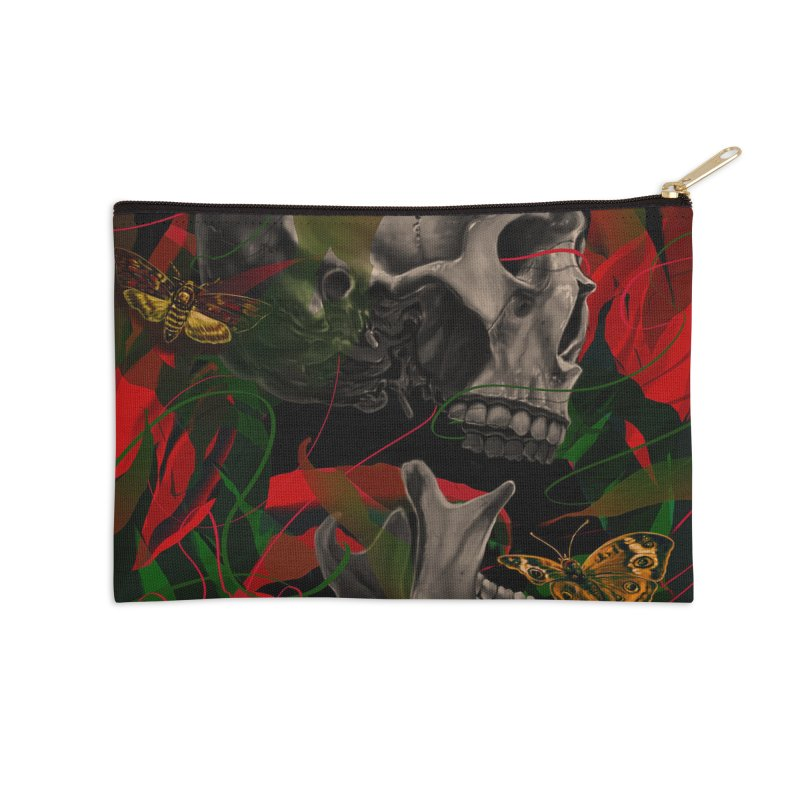 Existence Accessories Zip Pouch by nicebleed