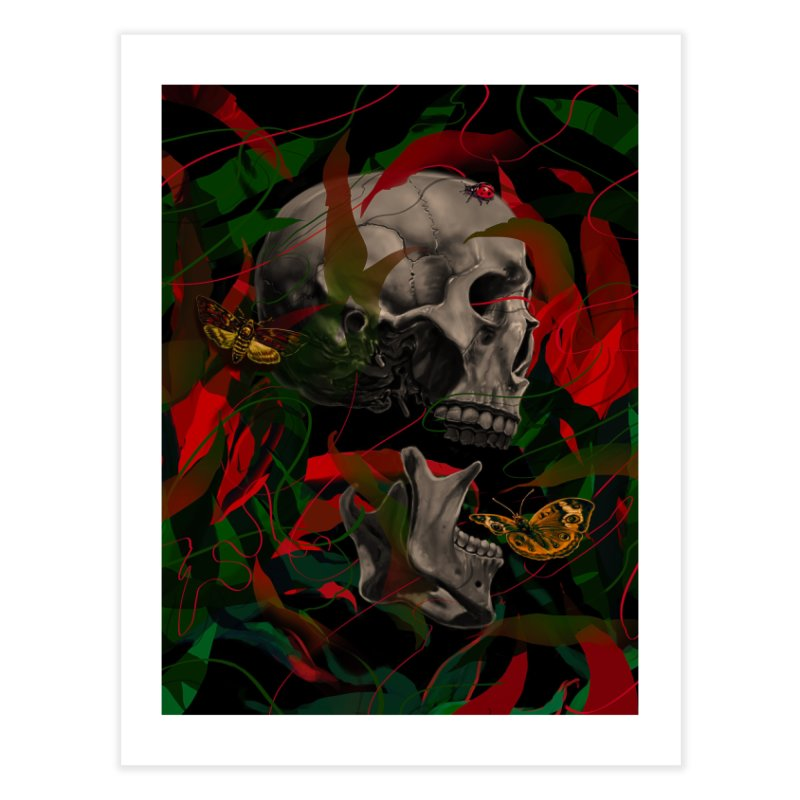 Existence Home Fine Art Print by nicebleed