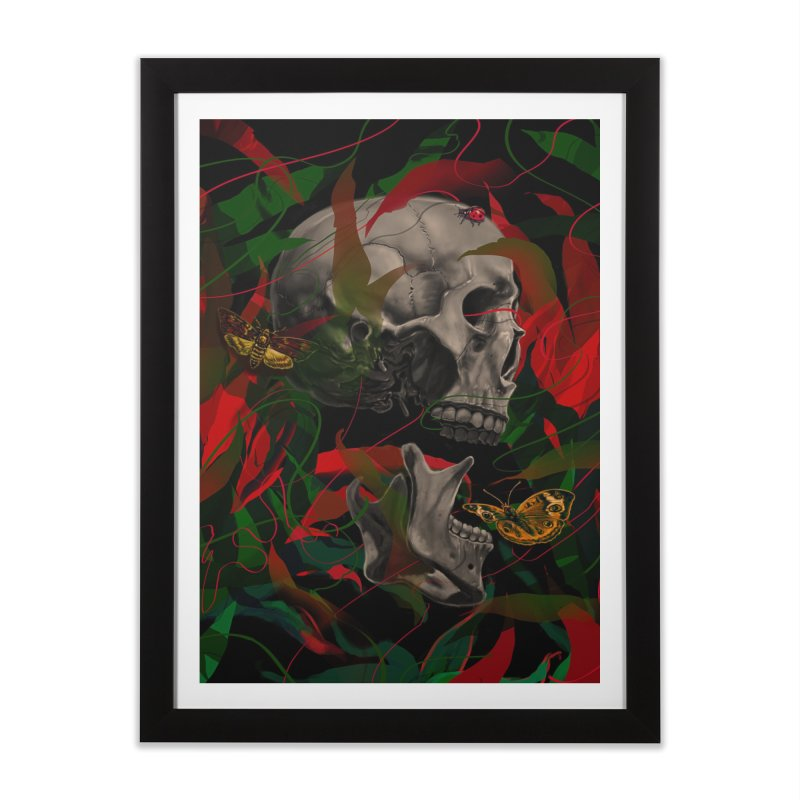 Existence Home Framed Fine Art Print by nicebleed