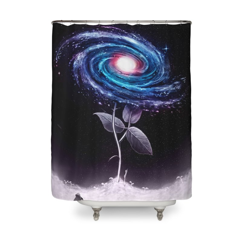 My Little Flower Home Shower Curtain by nicebleed