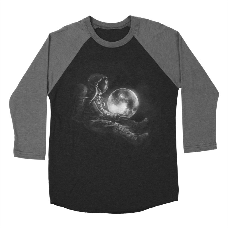 Moon Play Women's Baseball Triblend T-Shirt by nicebleed