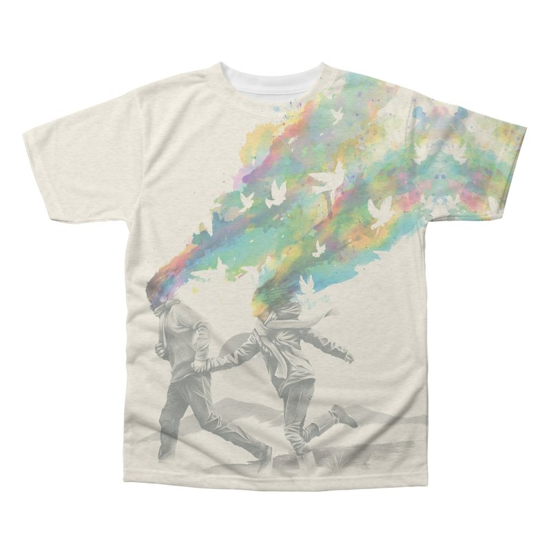 Emanate Men's Triblend All Over Print by nicebleed
