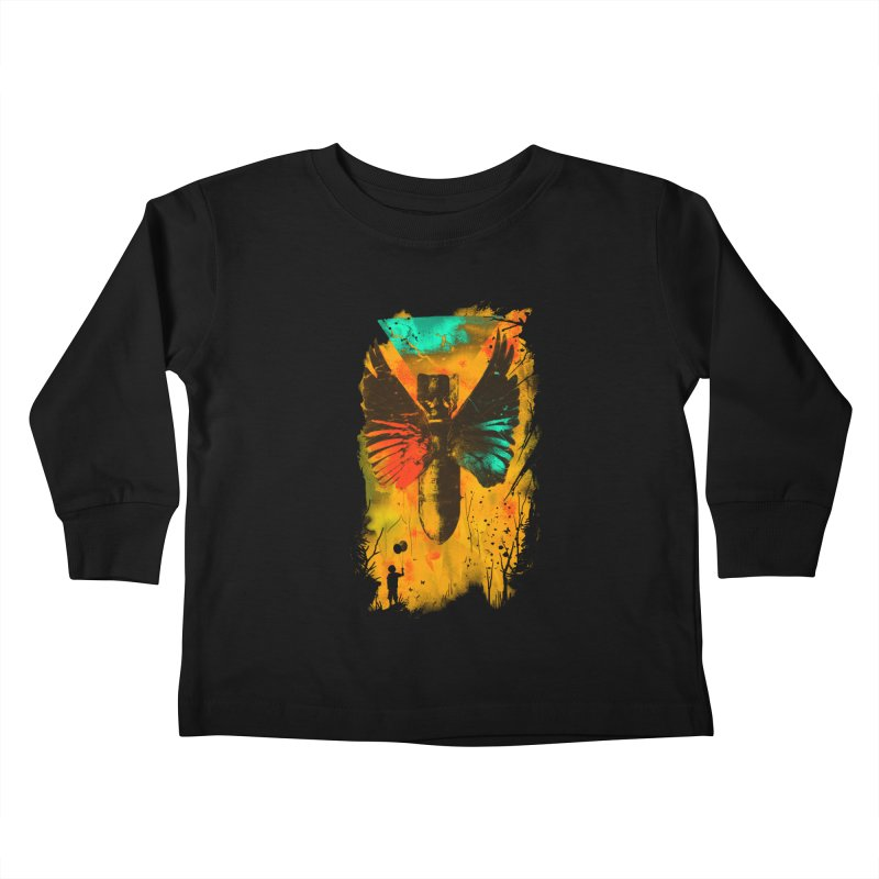 No More Trouble Kids Toddler Longsleeve T-Shirt by nicebleed