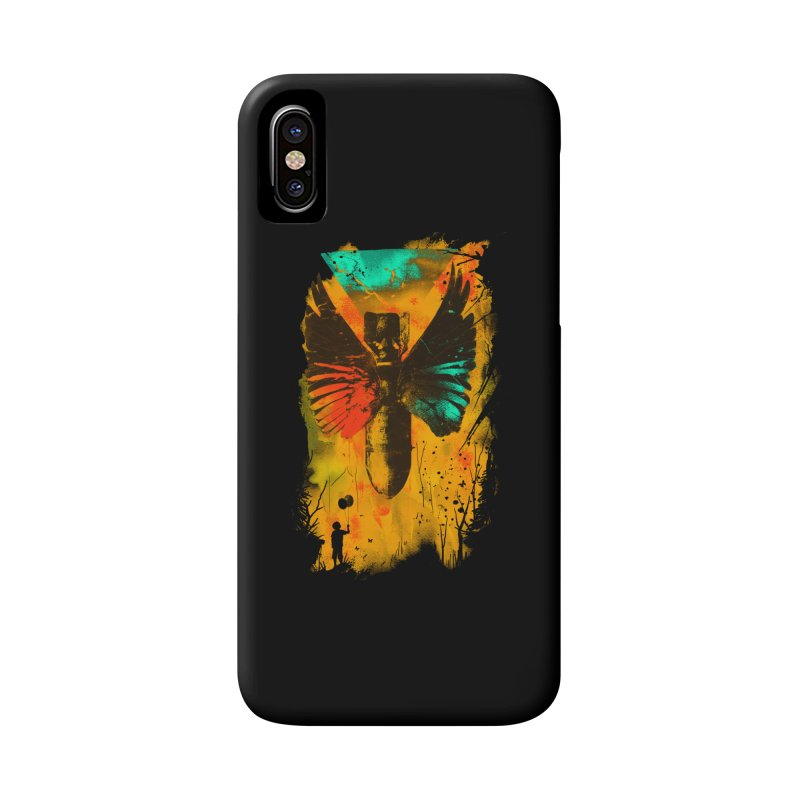 No More Trouble Accessories Phone Case by nicebleed