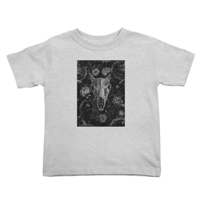 Tranquility Kids Toddler T-Shirt by nicebleed