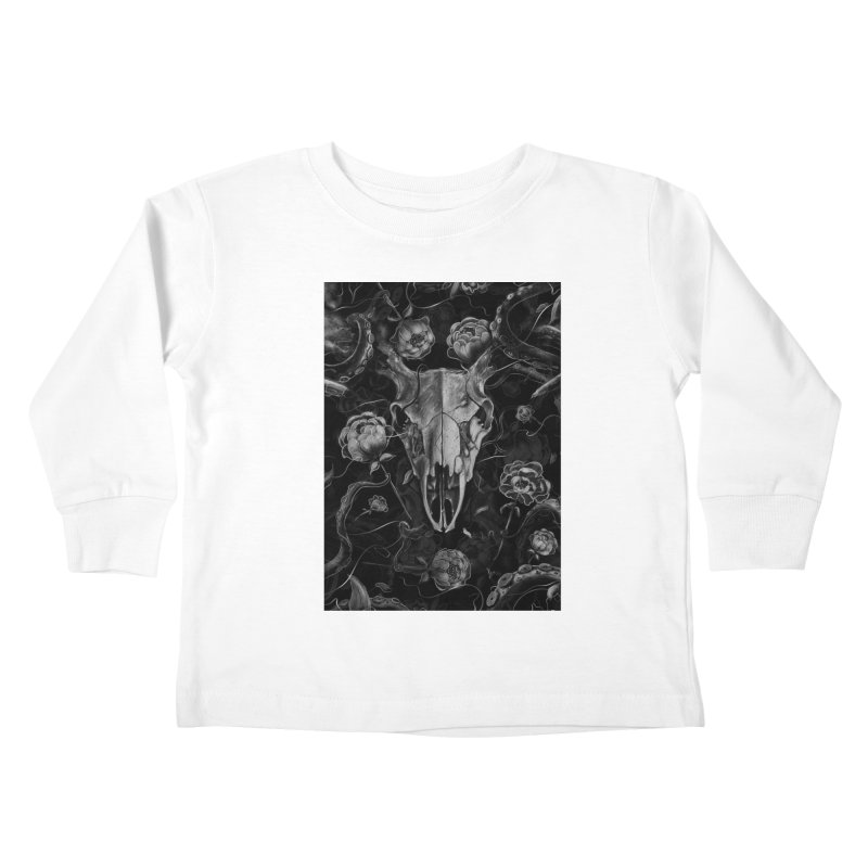 Tranquility Kids Toddler Longsleeve T-Shirt by nicebleed