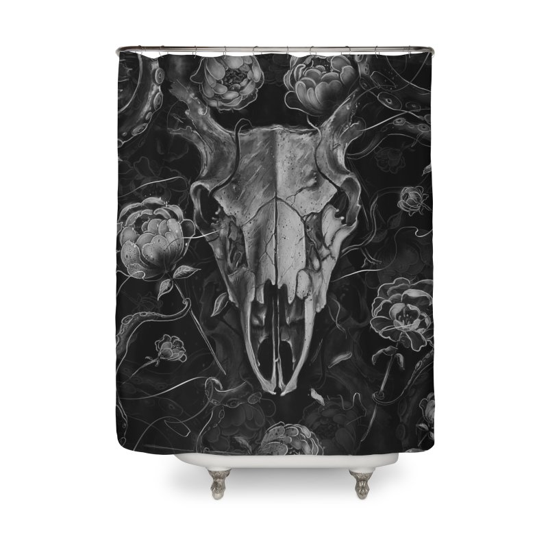 Tranquility Home Shower Curtain by nicebleed