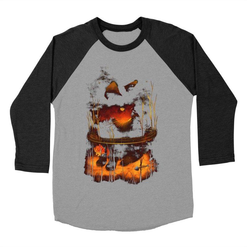 CatFish Men's Baseball Triblend T-Shirt by nicebleed