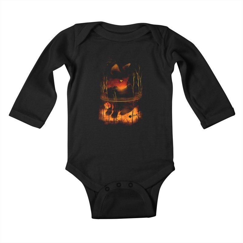 CatFish Kids Baby Longsleeve Bodysuit by nicebleed