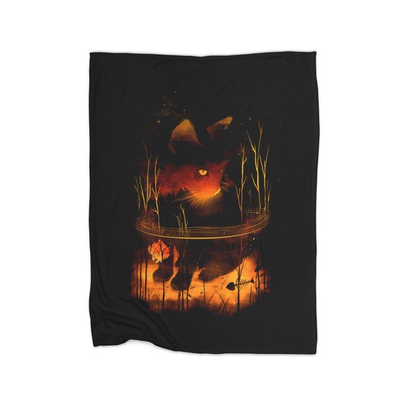 CatFish Home Blanket by nicebleed