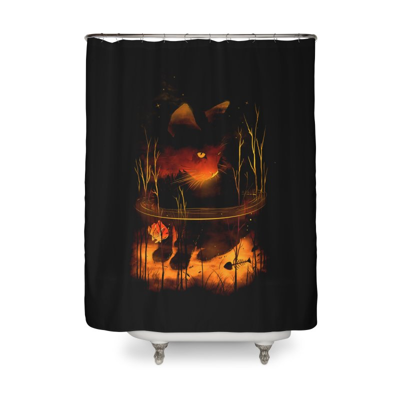 CatFish Home Shower Curtain by nicebleed