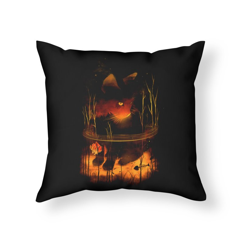 CatFish Home Throw Pillow by nicebleed