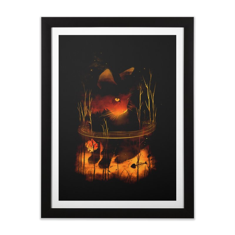 CatFish Home Framed Fine Art Print by nicebleed