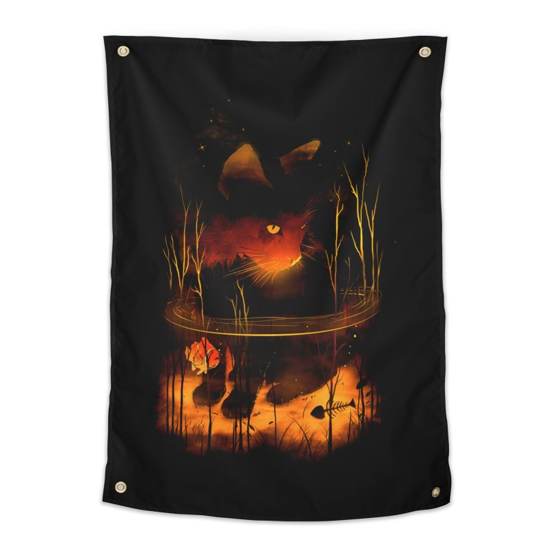 CatFish Home Tapestry by nicebleed