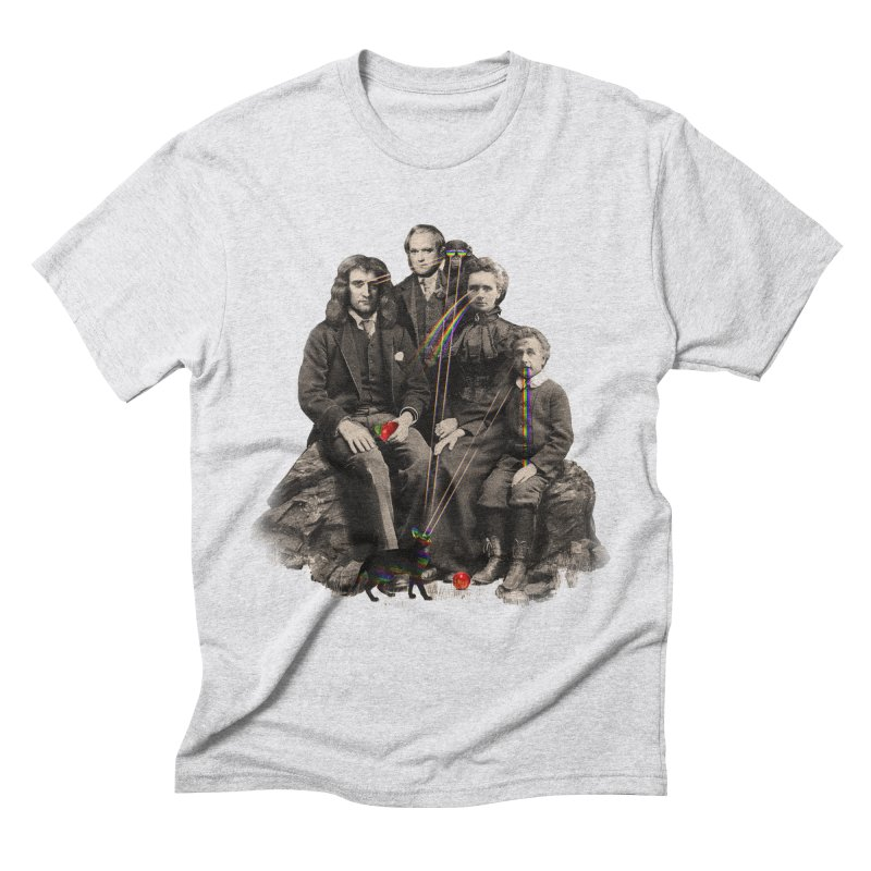 Family Portrait Men's Triblend T-shirt by nicebleed