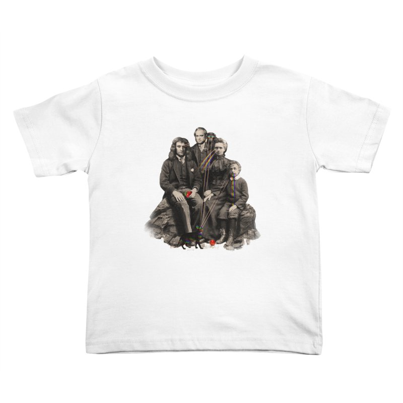 Family Portrait Kids Toddler T-Shirt by nicebleed