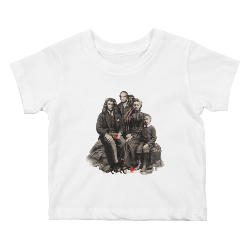 Family Portrait Kids Baby T-Shirt by nicebleed