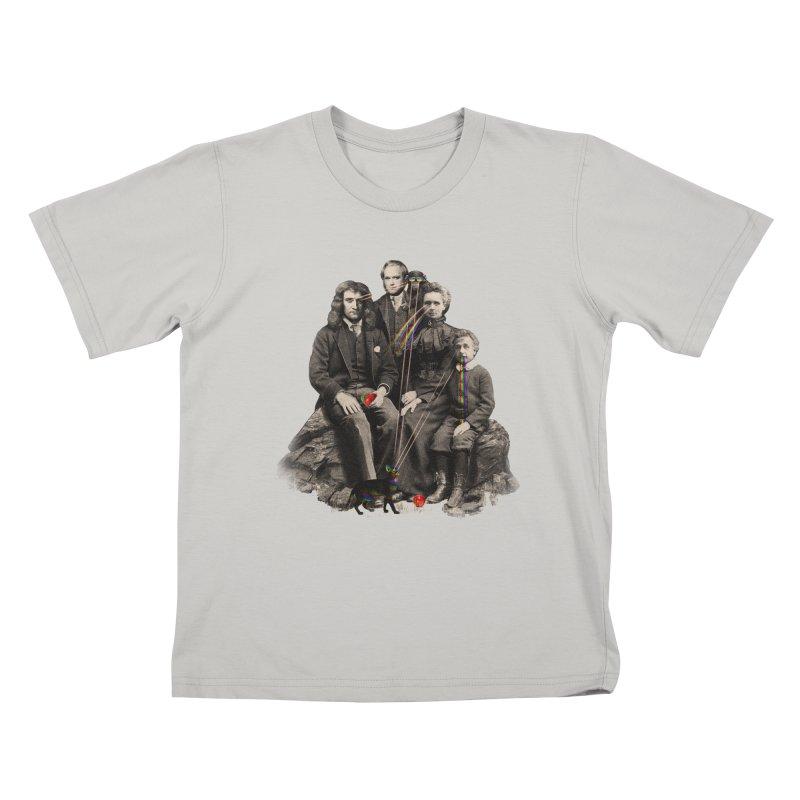 Family Portrait Kids T-shirt by nicebleed